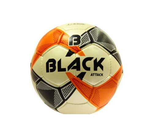 Black Attack Futbol Topu No 4