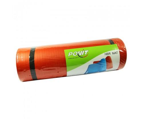 Povit Pilates ve Yoga Minderi 1,5 cm Kırmızı
