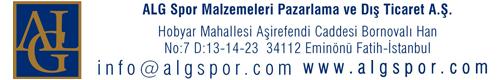 ALG SPOR MALZEMELERİ PAZARLAMA VE DIŞ TİC.A.Ş.